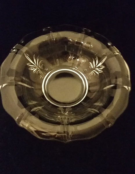 Large Glass Serving Bowl with Rolled Rim - The Other Alley