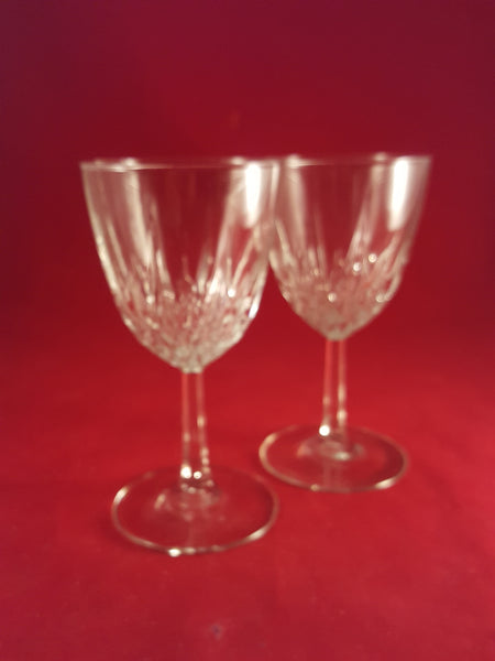 Cristal D Arques Durand Diamant  Stemware - The Other Alley