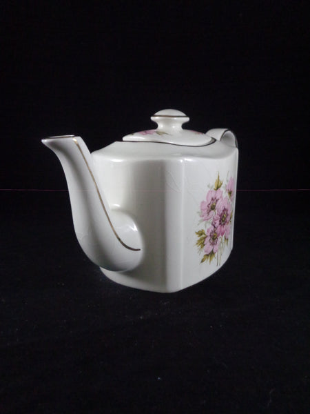 Arthur Wood Tea Pot Pink Flowers - The Other Alley