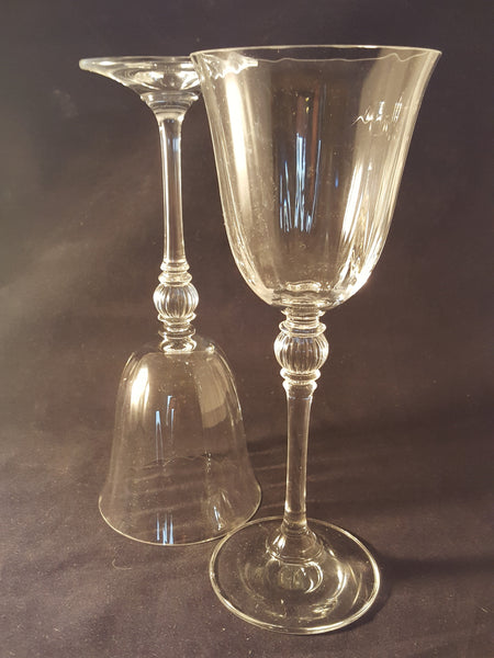 Very Tall Lead Crystal Stemware