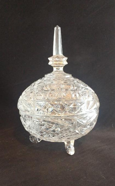 Vintage Imperlux Trinket/Candy Dish With Lid - The Other Alley