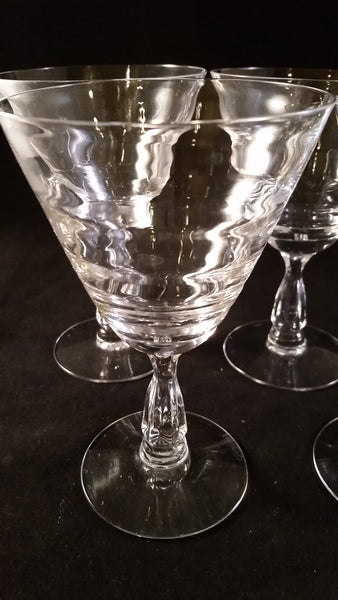 Flared Stemware with Ripples  S/2 - The Other Alley