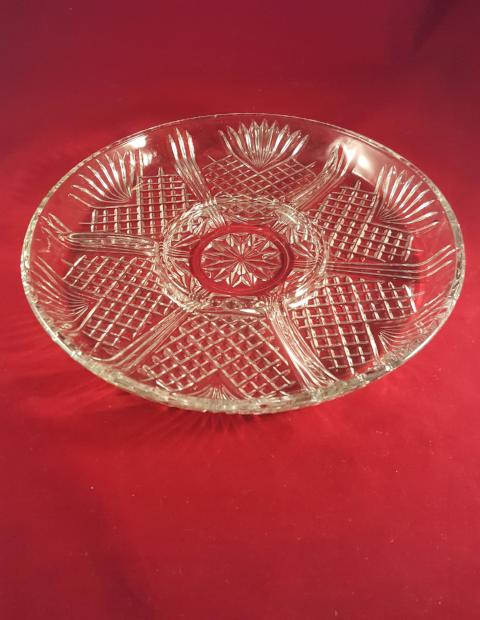 Covetro Divided Platter, Relish Tray from Italy - The Other Alley