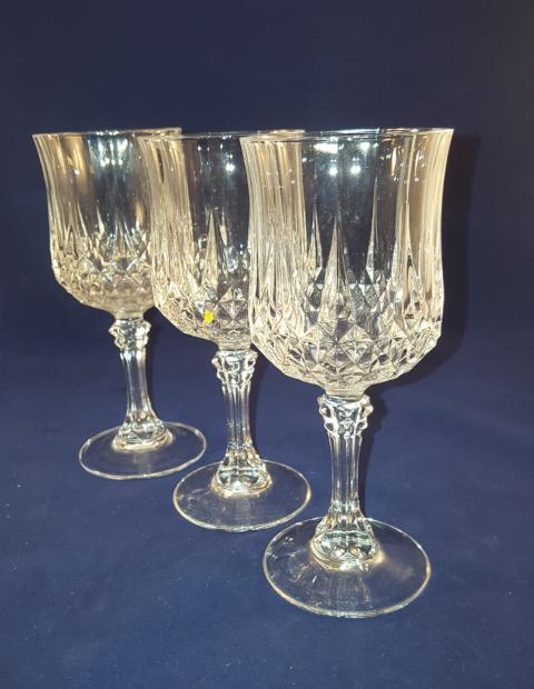 Like Cristal D Arques Longchamp Goblets - The Other Alley