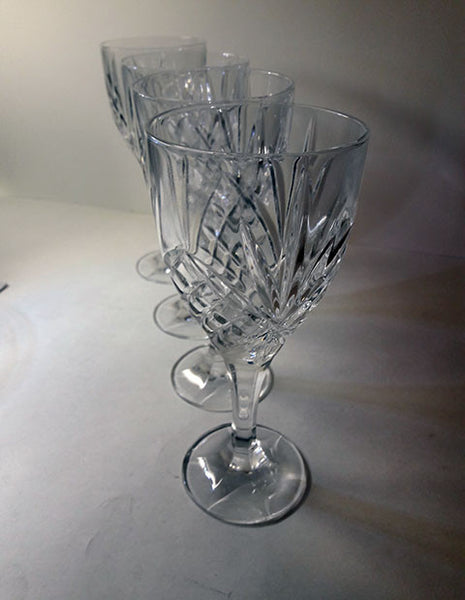 Tall Crystal Stemware  S/4 - The Other Alley