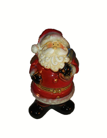 Santa Clause Trinket Box