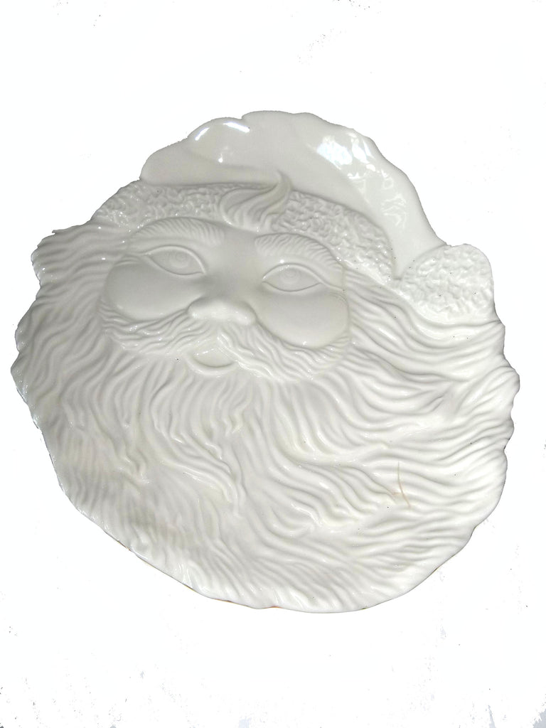 Mikasa Santa Cookie Plate - The Other Alley