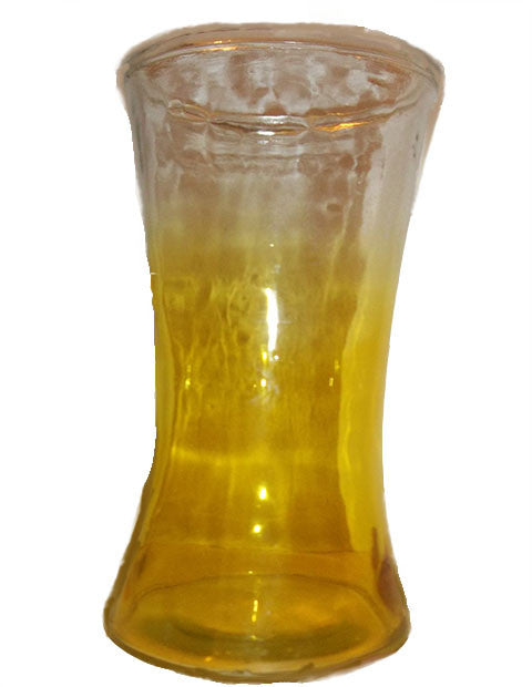 Vintage Yellow Colored Vase - The Other Alley