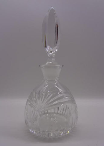 Waterford Perfume Bottle Marquis Clear Cut Crystal With Stopper - The Other Alley