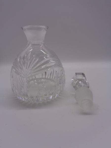 Waterford Perfume Bottle Marquis Clear Cut Crystal With Stopper