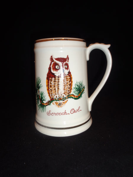 Screech Owl Ivory Mug - The Other Alley