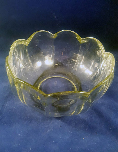 Thick Serving Bowl, Flower Shaped - The Other Alley