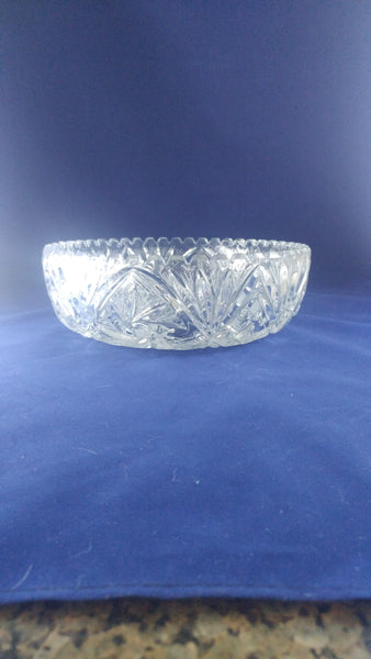 Irena Crystal Serving Bowl - The Other Alley