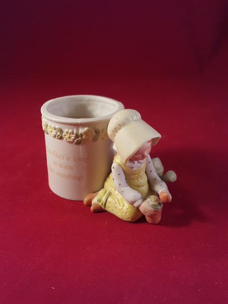 Designers Collection - Holly Hobbie Porcelain Candle Holder - The Other Alley