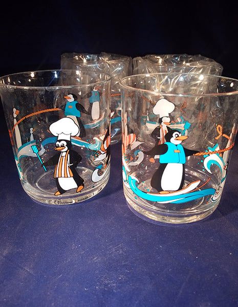 Avon Penquin Party Tumblers - The Other Alley