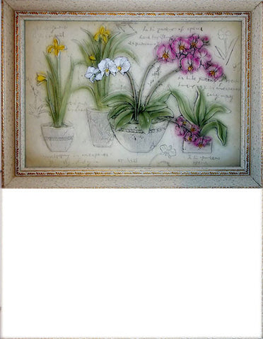 Ceramic Picture/Frame Flowers - The Other Alley