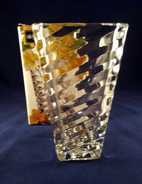Mikasa Angles Crystal Vase - The Other Alley