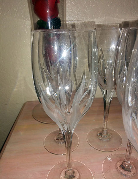Lead Crystal Stemware  S/6 - The Other Alley