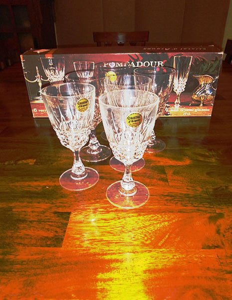 Cristal D Arques Pompadour  Stemware - The Other Alley