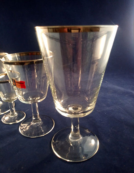 Cristal D Arques Parisienne Glasses  S/6 - The Other Alley