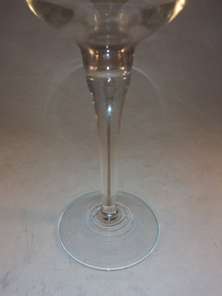 Crystal Tall Candlestick Holder - The Other Alley