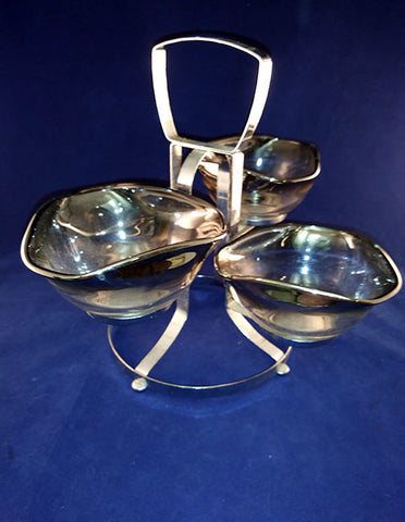 Dorothy Thorpe Pedestal Style Relish Tray - The Other Alley