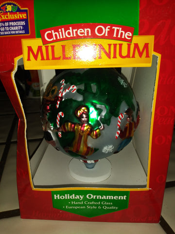 2000 Chidren of the Millennium Christmas Tree Ornament - The Other Alley