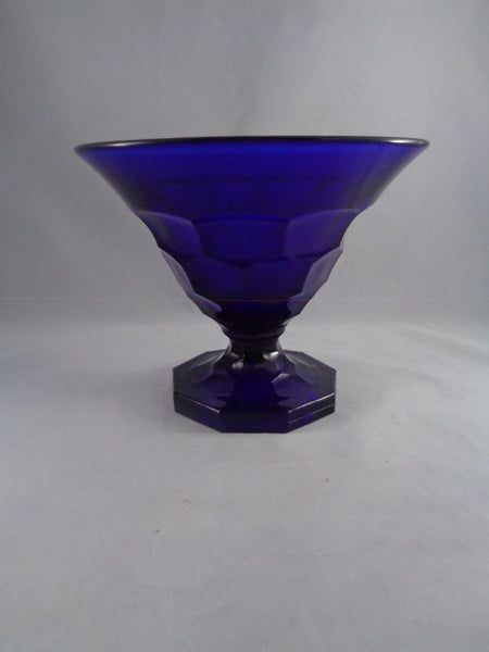 Viking Georgian Cobalt Pedestal Bowl