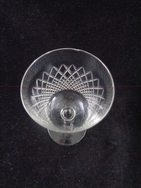 Goblets With Diamond Pattern  S/10 - The Other Alley