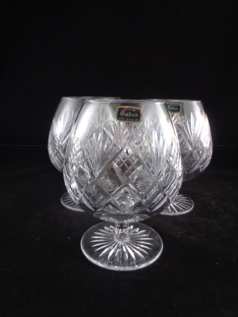 "Tudor ""Knyghton"" Brandy Glasses  S/5 - The Other Alley"