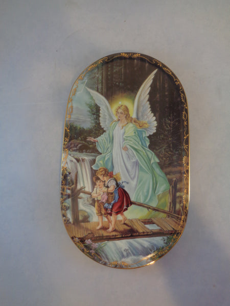 Angel Behuteter Heimweg Wall Plate - The Other Alley