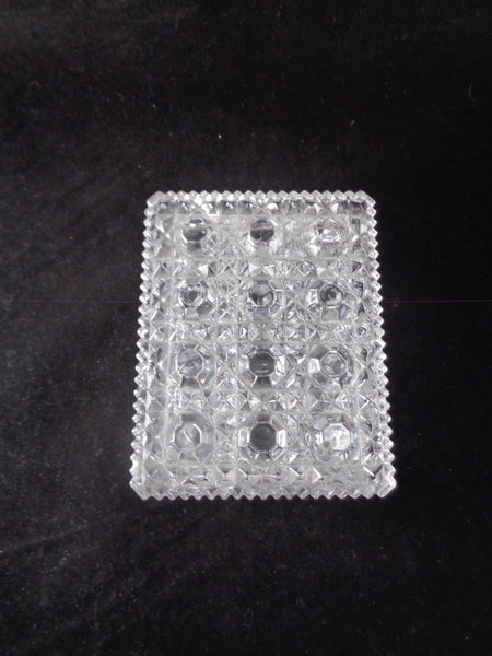 Rectangular Glass Trinket Box With Lid - The Other Alley