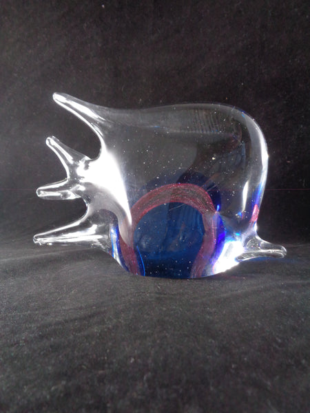 Art Glass Angel Fish Figurine