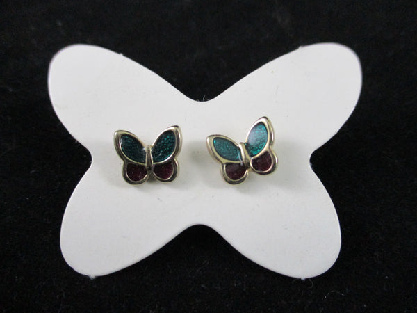 Avon Butterfly Earrings With Trinket Box - The Other Alley