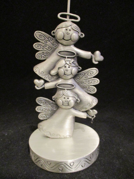 Angel Pewter Photo/Card Holder - The Other Alley