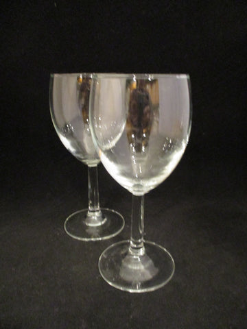 Wine Goblets From France  S/2