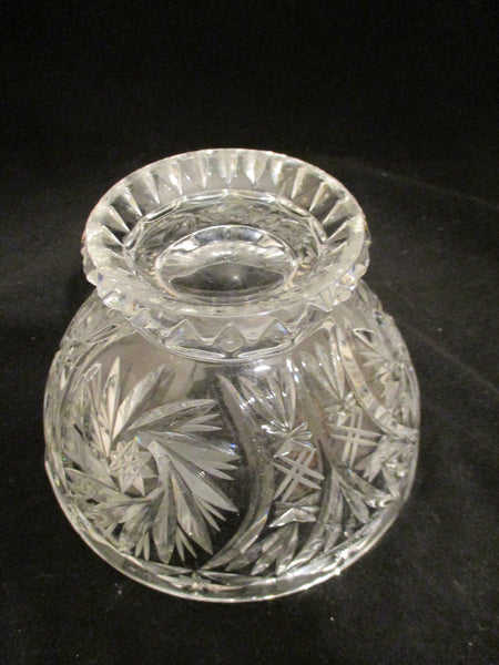 Crystal Solar Star & Pinwheel Bowl - The Other Alley