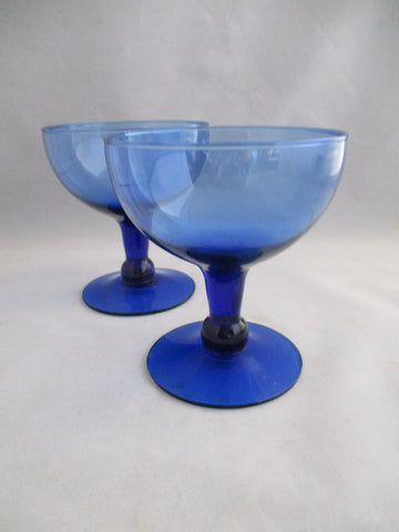 Short Stem Margarita Glasses  S/2