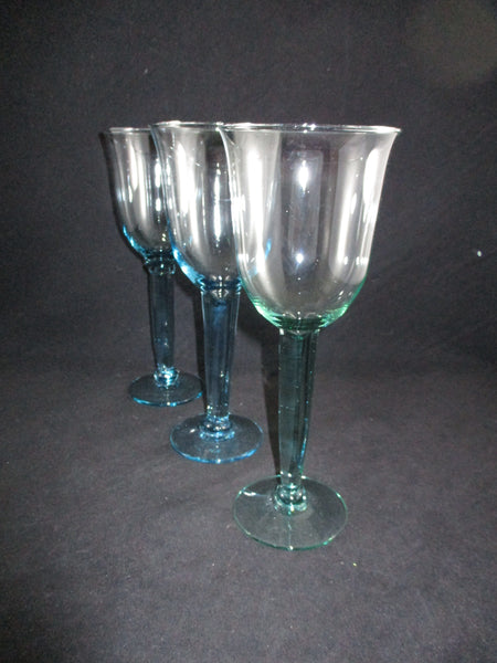 Thick Stemmed Tall Goblets  S/3 - The Other Alley