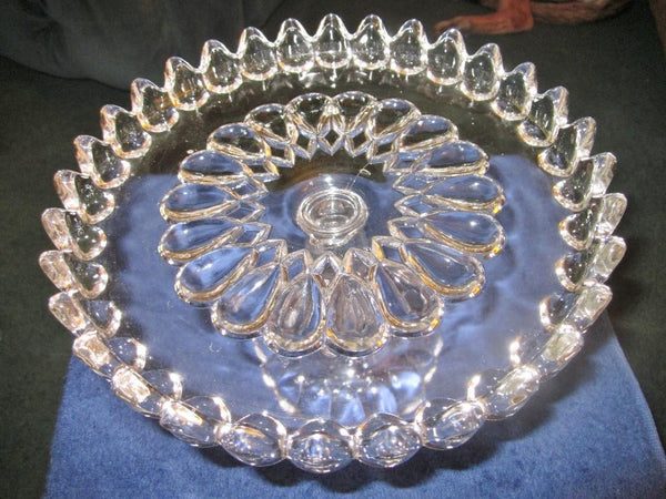 Late 1800s, Early 1900s Cake Plate - The Other Alley