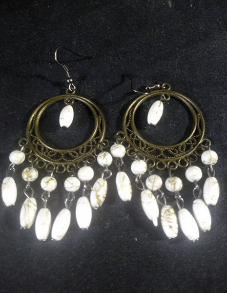 Beaded Chandelier Earrings - The Other Alley