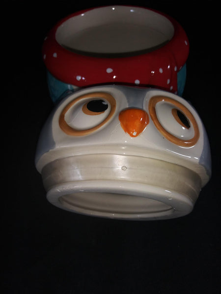 Boston Warehouse Trading Co. Snowy Owl Cookie Jar - The Other Alley