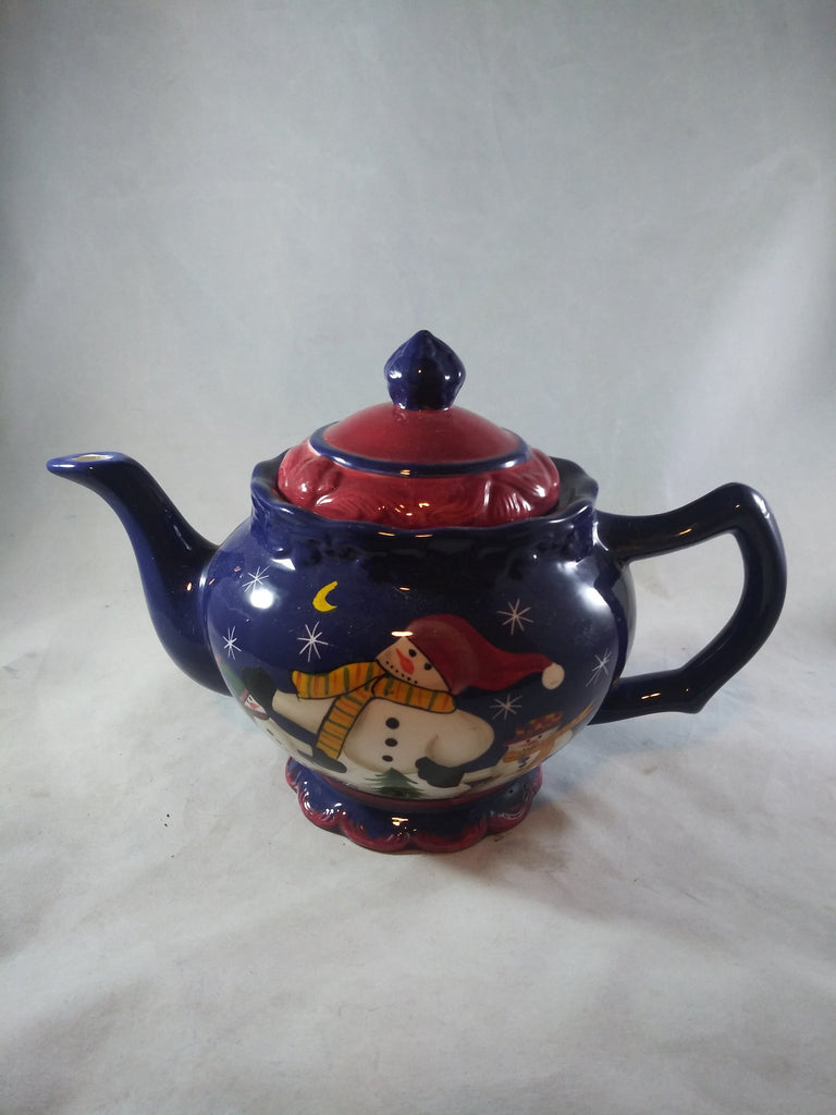 Casa Vero Snowman Tea Pot - The Other Alley