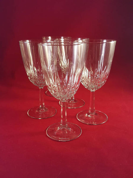 "Like Cristal D Arques-Durand Diamant"" Water Goblets - The Other Alley"