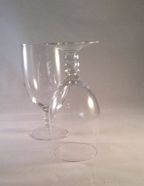 Button Stem Water, Tea Goblets  S/2 - The Other Alley