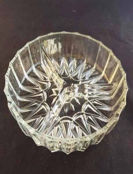 3 Sectioned Glass Relish Tray - The Other Alley