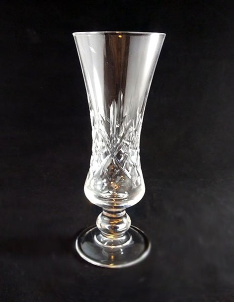Cut Crystal Bud Vase