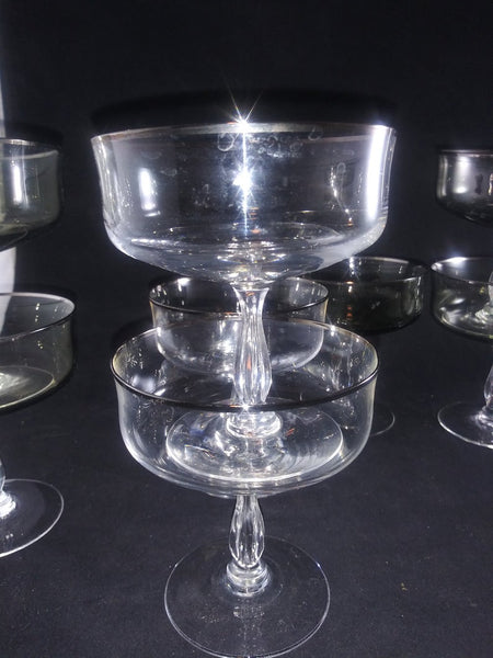 Black and Clear Crystal Coupes e - The Other Alley
