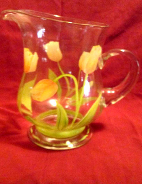 Princess House Tulip Pitcher - The Other Alley
