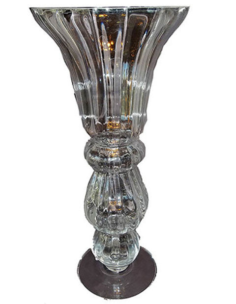 Polish Lead Crystal Vase - The Other Alley